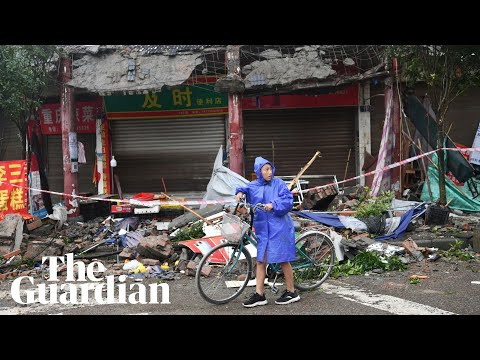 China struck by 6.0-magnitude earthquake
