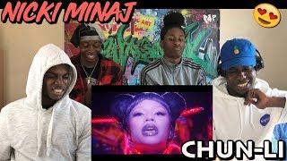 Nicki Minaj - Chun-Li - [MUSIC VIDEO REACTION]