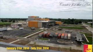 'Bicknell Family Center for the Arts (timelapse) - Pittsburg State University