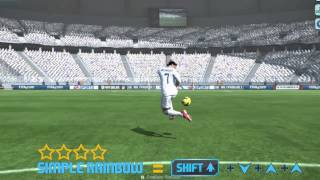 Fifa Online3 Skill Tutorial on keyboard - YouTube