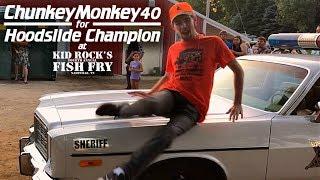 ChunkeyMonkey40 for Hoodslide Champion at Kid Rock's Fourth Annual Fish Fry!!! #KRHoodSlide
