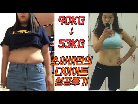 90kg에서 53kg까지 살 빼본 나의 다이어트 성공비법 How I Lost 81 Pounds KIM RISA 김리사