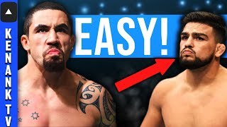 Why Robert Whittaker DESTROYS & BEATS Kelvin Gastelum! | UFC 234: Full Fight Breakdown Prediction!