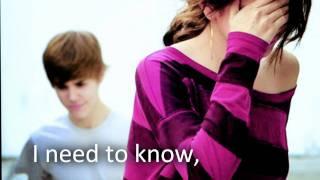 Justin Bieber - That Should Be Me [Lyrics HQ/HD]