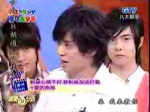 2007-03-01 娛樂百分百 花樣少年少女慶功同樂會 小豬模仿汪東城