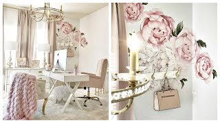 Home Office Update | Peonies Wall Sticker