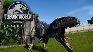 Jurassic World Evolution - The Giganotosaurus - Genetic Modifications & Combat
