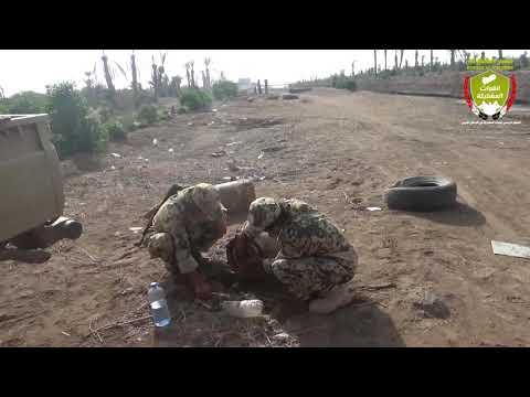 القوات المشتركة تنزع 5 رؤوس صاروخية زرعتها المليشيات الحوثية في منتجع سياحي