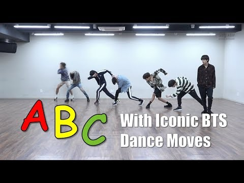 Learn the Alphabet with Iconic BTS Dance Moves