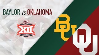 OU Highlights vs Baylor (Big 12 Championship)