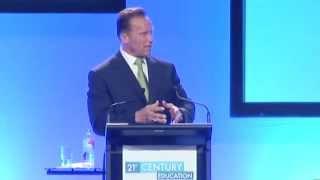Arnold Schwarzenegger LIVE Full at 21st Century Education, Sydney