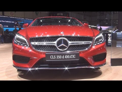 @MercedesBenz CLS 350 d Coupe Final Edition (2017) Exterior and Interior in 3D