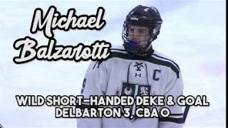 Michael Balzarotti | Delbarton | Shorthanded Dangle | ESPN Top 10 #3 on Feb. 13!