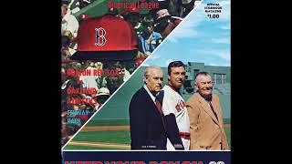 1975 ALCS, Game 1 (NBC-TV Audio of Lost Telecast)