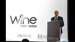 Lançamento da Wine South America em Bento Gonçalves