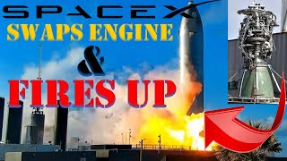 "SpaceX Starship: SpaceX Swaps ""Suspect"" Starship Engine in Record Time & Fires Up for 2nd Time"