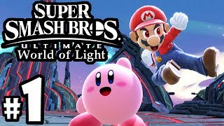 Super Smash Bros Ultimate - World of Light Story PART 1 - Switch Gameplay Walkthrough: Spirits Intro
