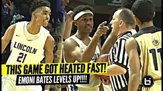 """""""We About To BUST EM"""" This Game Got HEATED From The Start! Emoni Bates LEVELS UP In The Playoffs!!"""
