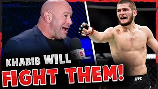 BREAKING! Dana White reveals Khabib WILL RETURN if lightweights do something SPECTACULAR at UFC 257