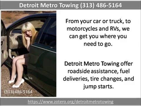 Detroit Metro Towing,  Detroit, MI (313) 486-5164