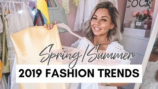 10 FASHION TRENDS FOR SPRING/SUMMER 2019 | Lucy Jessica Carter