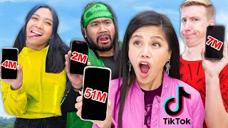 FIRST TO 1,000,000 VIEWS On TIK TOK WINS - Among us TikTok Challenge & Vy Qwaint Birthday Surprise!