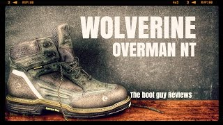 "Wolverine OVERMAN  CARBONMAX 6"" [ The Boot Guy Reviews ]"