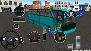 Euro Bus Driving Simulator : All Vehicles Unlocked    Wheels On The Bus  - Android GamePlay FHD