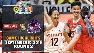 Motolite vs. Choco Mucho - September 15, 2019   Game Highlights   #PVL2019