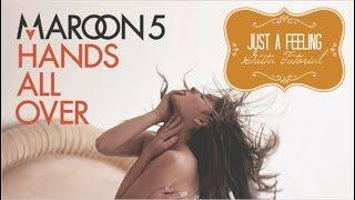 Just A Feeling - Maroon 5 // Guitar Tutorial