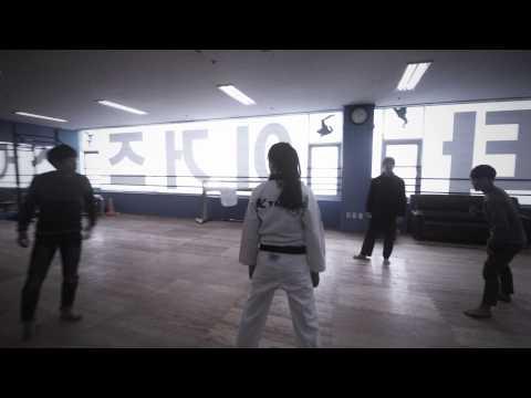 Taekwondo Poomsae in Anwendung