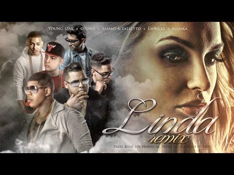 Sammy & Falsetto - Linda (Remix) (ft. Young Izak, Ozuna, Juanka, Lionexx) (Lyric Video)