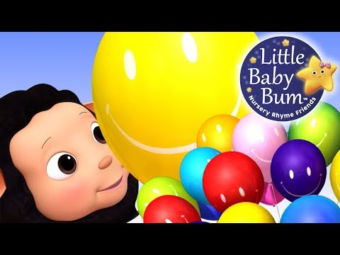 Little Baby Bum | Color Baloons Song | Nursery Rhymes for Babies | Songs for Kids