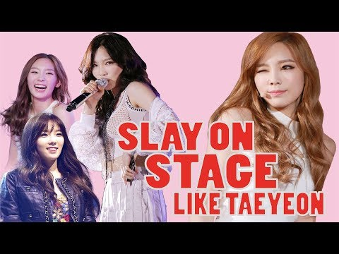 How to Slay the Stage like Taeyeon