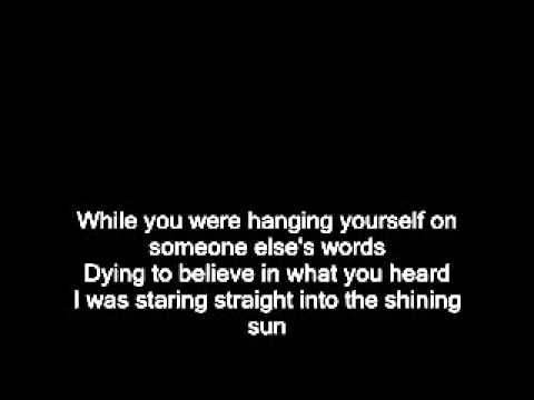 Pink Floyd - Coming back to life [lyrics on screen]