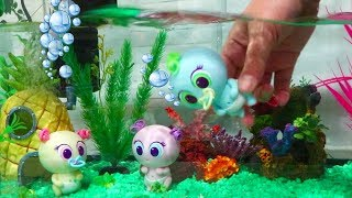 New Water Babies ! Toys and Dolls Fun for Kids with Aquatic Toy Mikro Nerlies Baby Doll Play | SWTAD