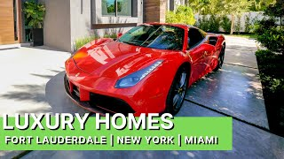 LUXURY HOME TOUR: FORT LAUDERDALE   NEW YORK   MIAMI