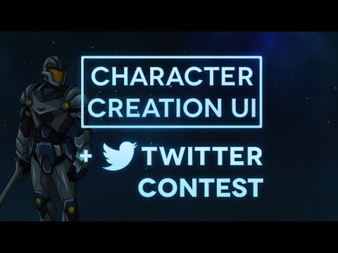 Updated Character Creation & Twitter Contest