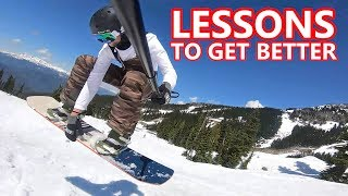 Lessons To Get Better At Snowboarding