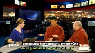 (VIDEO Ni-5LDyiMTA) Filmfestivalo en Esperanto, Ĉinio - en ĉeĥa televido