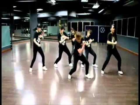 EXO-K MAMA dance tutorial (slowed and mirrored)