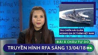 Tin tức thời sự | Tàu chiến Hải quân Hoàng gia Úc thăm Việt Nam