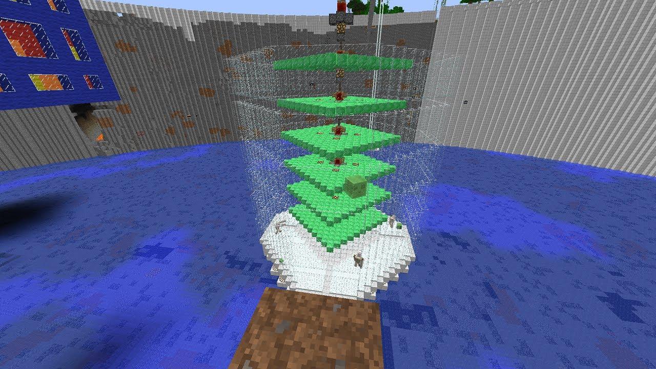 How to make a slime spawner minecraft
