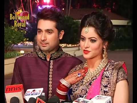 Celebrities attend wedding reception party of Amit Kapoor ...Aamna Sharif Real Life Marriage Photos