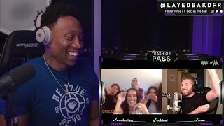 TRASH or PASS! Harry Mack ( Virtual Crowd Control ) Omegle Bars 41 [REACTION!!!]