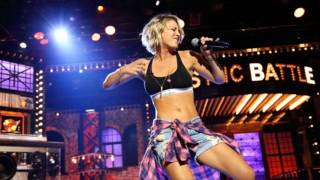 Kaley Cuoco's 'Lip Sync Battle' performance is Ludacris