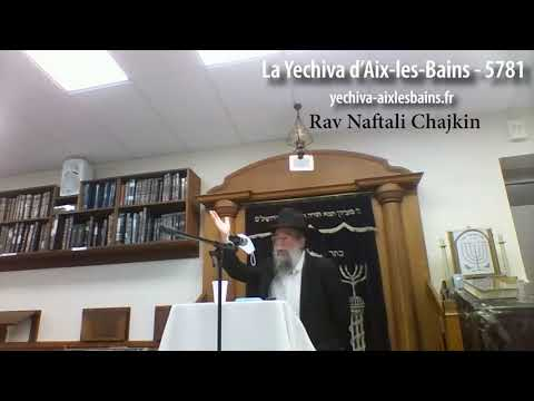 Rav Naftali Chajkin 5781