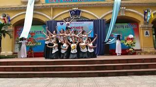 Múa Sóng Lụa Ven Đô - Mừng ngày Nhà giáo Việt Nam 20/11 - Phan Dinh Phung Dance Club