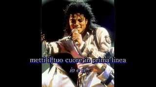 On the line - Michael Jackson - sottotitoli italiano