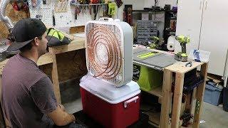 $100 Homemade Air Conditioner - DIY